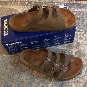 Mocha Birkenstock's Sandals